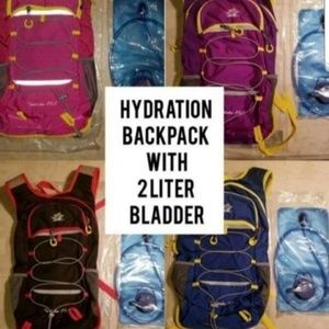 Handbags - Hydration Backpack With 2L Bladder